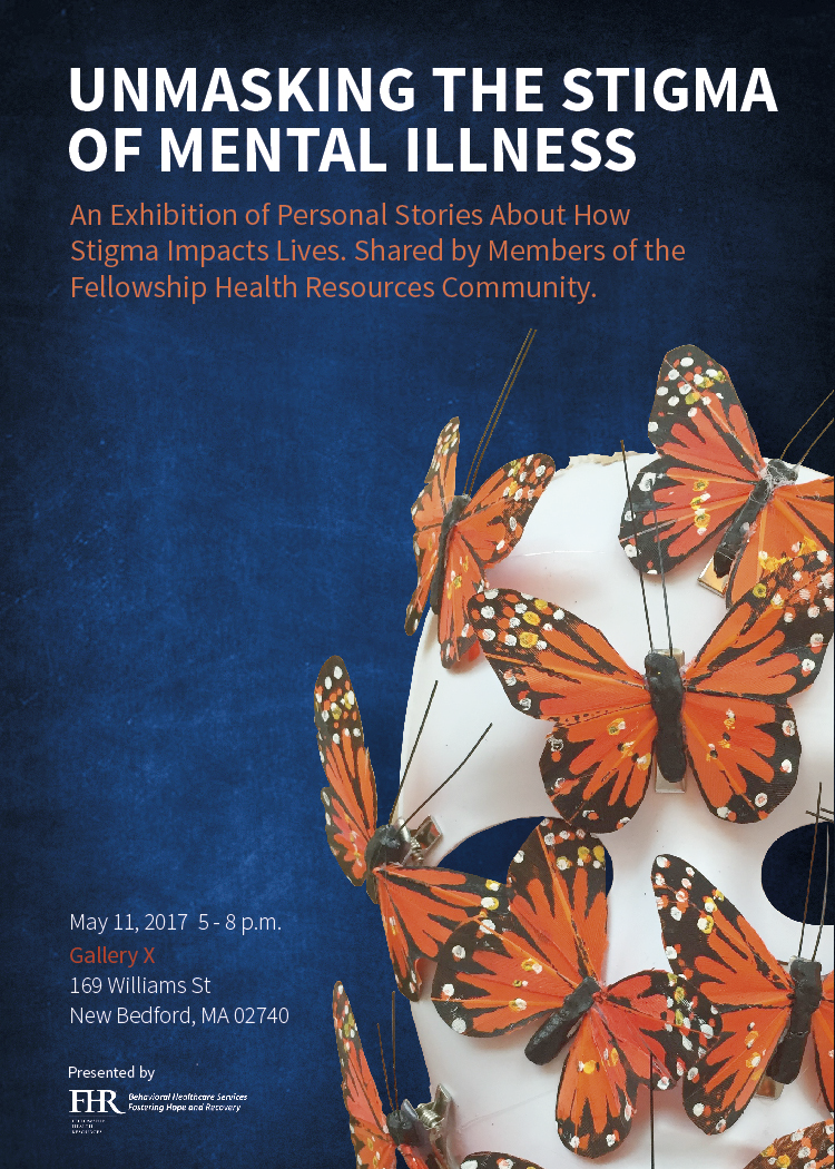 Fhr May 11 Unmasking The Stigma Of Mental Illness Exhibit